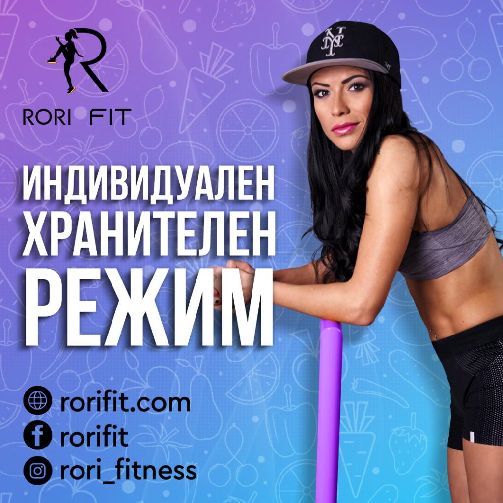 Индивидуален хранителен режим rorifit.com